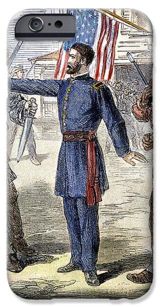 FREEDMENS BUREAU, 1868 iPhone Case by Granger