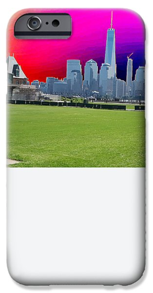 Obama iPhone Cases - FREEDOM TOWER formerly World Trade  Centre WTC New York photo taken on July 4 2015 USA Americas bir iPhone Case by Navin Joshi