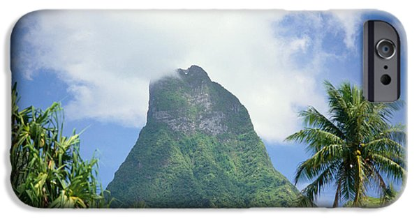 Global Greens iPhone Cases - French Polynesia Moorea iPhone Case by Joe Carini - Printscapes
