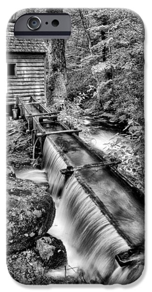 Grist Mill iPhone Cases - From the Old Days iPhone Case by Paul W Faust -  Impressions of Light