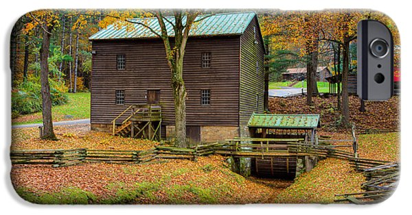Village iPhone Cases - Gastons Mill iPhone Case by John Bailey