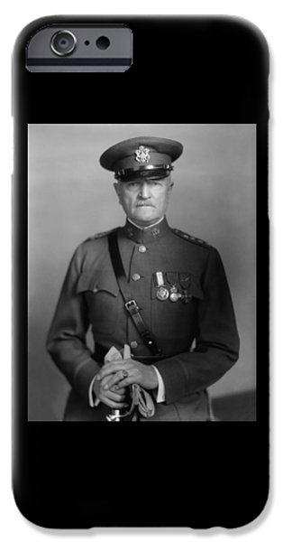 Wwi iPhone Cases - General John Pershing iPhone Case by War Is Hell Store