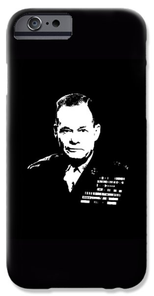 Soldiers Digital iPhone Cases - General Lewis Chesty Puller iPhone Case by War Is Hell Store