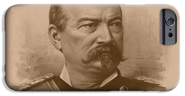 American History iPhone Cases - General Philip Sheridan iPhone Case by War Is Hell Store