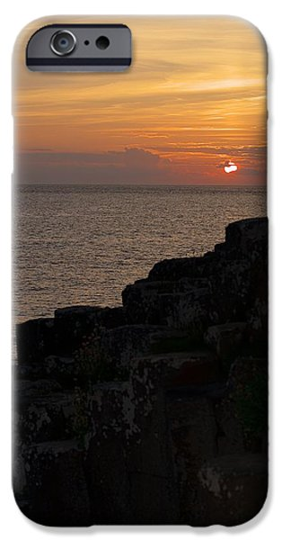 Elephants iPhone Cases - Giants Causeway iPhone Case by Mark Hinds