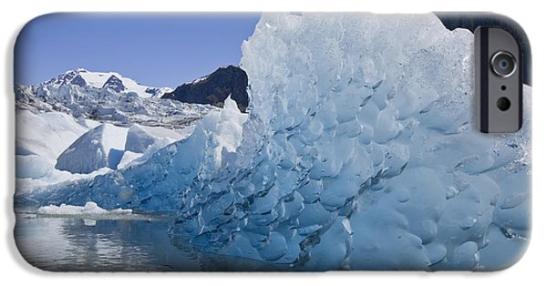 Tongass iPhone Cases - Glacial Ice iPhone Case by John Hyde - Printscapes
