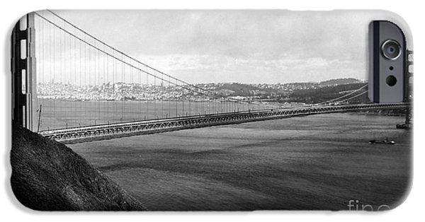 Bay Bridge iPhone Cases - Golden Gate Bridge iPhone Case by Granger