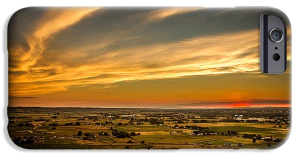 Emmett iPhone Cases - Golden Hour iPhone Case by Robert Bales