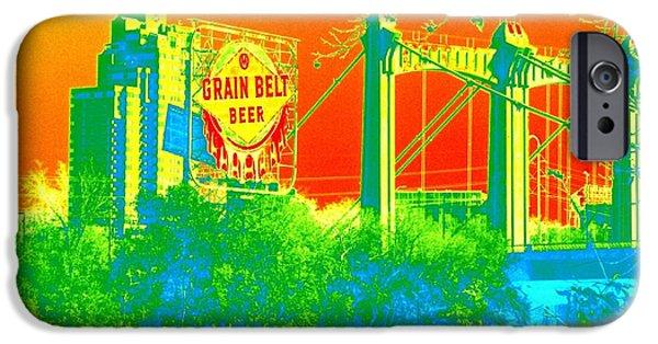 Grain iPhone Cases - Grain Belt 1 iPhone Case by Rashelle Brown