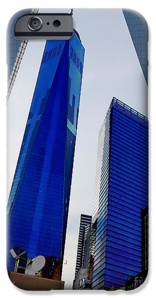 Obama iPhone Cases - GROUND  ZERO FREEDOM TOWER formerly World Trade  Centre WTC New York photo taken on July 4 2015 USA  iPhone Case by Navin Joshi