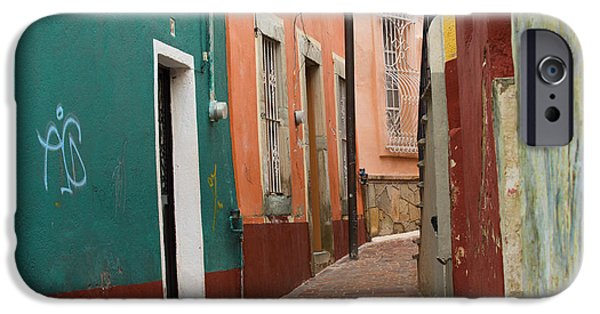 Alley Photographs iPhone Cases - Guanajuato iPhone Case by Juli Scalzi