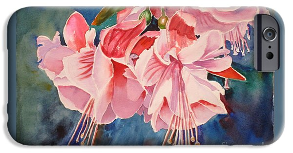 Fuchsia iPhone Cases - Hanging iPhone Case by Mohamed Hirji