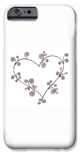 Heart iPhone Case by Frank Tschakert