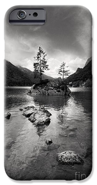 Spectacular iPhone Cases - Hintersee iPhone Case by Nailia Schwarz