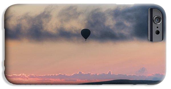 Hot Air Balloon iPhone Cases - Hot air balloon Cappadocia iPhone Case by Joana Kruse