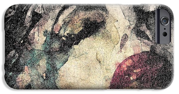 Lips Digital Art iPhone Cases - How Can You Mend A Broken Heart  iPhone Case by Paul Lovering