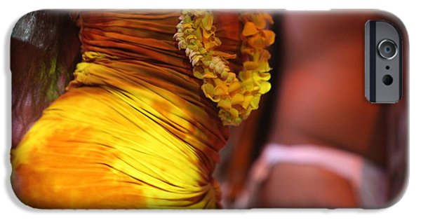 Dancing iPhone Cases - Hula Dancers iPhone Case by Nadine Rippelmeyer