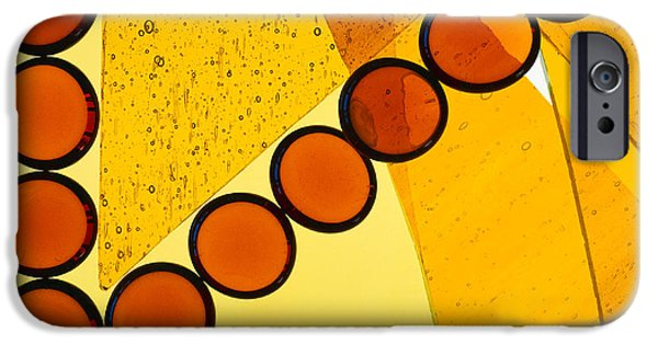 Colorful Abstract iPhone Cases - Illuminations 78 iPhone Case by Barbara Chase
