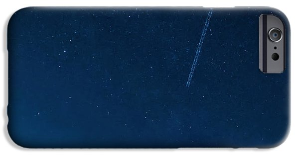 Jet Star iPhone Cases - Into the Wild Blue Yonder iPhone Case by Steve Harrington