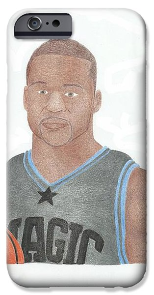 Jameer Nelson iPhone Case by Toni Jaso