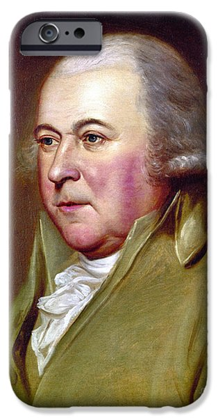 JOHN ADAMS (1735-1826) iPhone Case by Granger