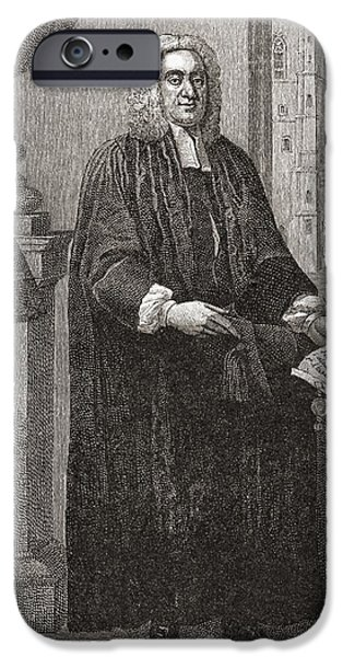 Gullivers iPhone Cases - Jonathan Swift, 1667 To 1745 iPhone Case by Ken Welsh