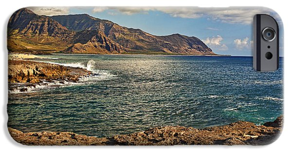 United iPhone Cases - Kaena Point iPhone Case by Marcia Colelli