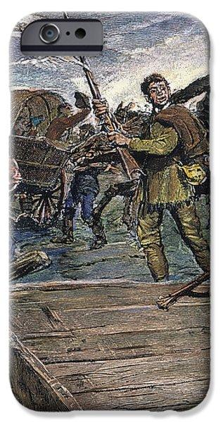 KANSAS-NEBRASKA ACT, 1855 iPhone Case by Granger