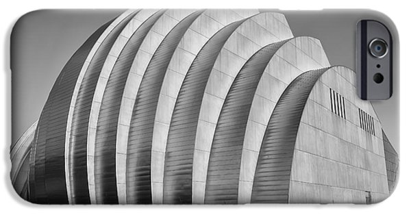 Symphony Hall iPhone Cases - Kauffman Center iPhone Case by Dennis Hedberg