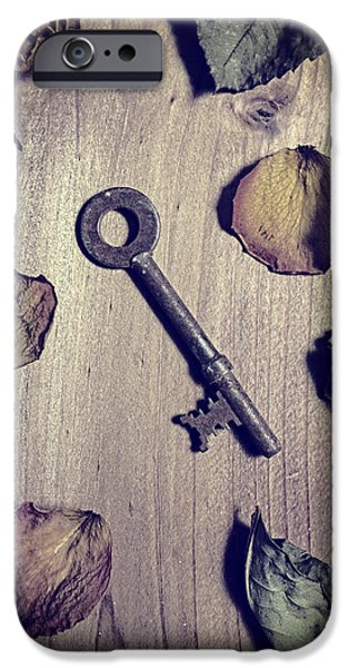Board iPhone Cases - Key iPhone Case by Joana Kruse
