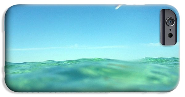 Board iPhone Cases - Kitesurfing iPhone Case by Stylianos Kleanthous