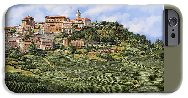 Hotels iPhone Cases - La Morra iPhone Case by Guido Borelli