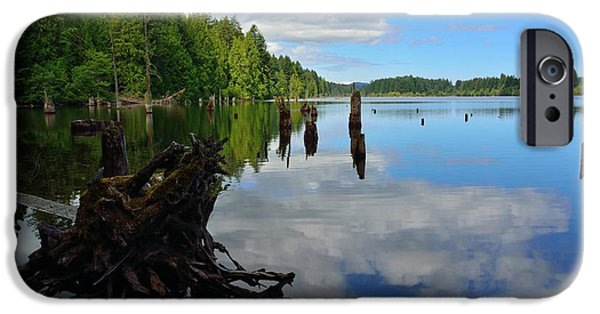 Buy iPhone Cases - Lake Reflections iPhone Case by Elmar Langle