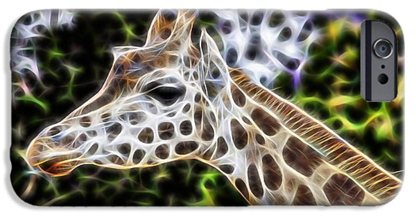 Giraffe iPhone Cases - Latitude iPhone Case by Marvin Blaine