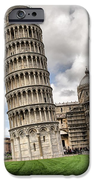 Miracle iPhone Cases - Leaning Tower of Pisa Italy iPhone Case by John Williams