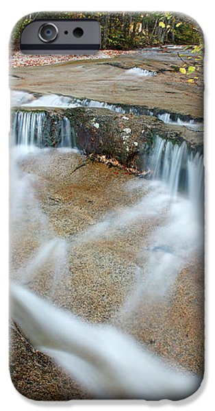 Ledge Brook - White Mountains New Hampshire USA iPhone Case by Erin Paul Donovan