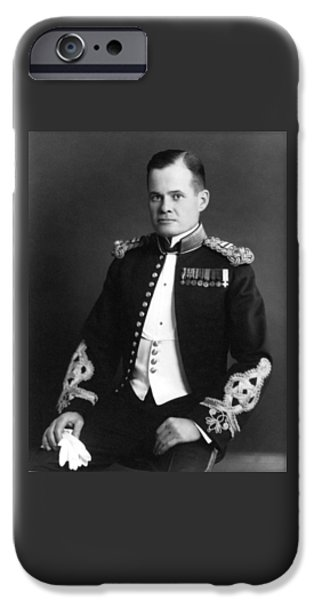Grunts iPhone Cases - Lewis Chesty Puller iPhone Case by War Is Hell Store