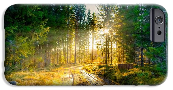 Norway iPhone Cases - Light of Hope iPhone Case by Rose-Maries Pictures