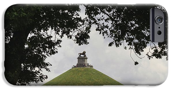 Mounds iPhone Cases - Lions Mound iPhone Case by TouTouke A Y