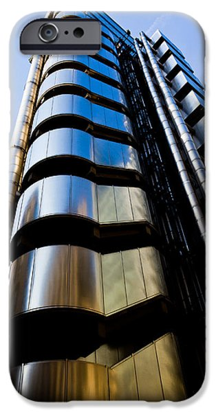 Lloyds of London  iPhone Case by David Pyatt