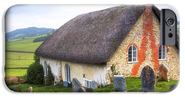 Meeting iPhone Cases - Loughwood Meeting House iPhone Case by Joana Kruse