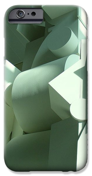 Dawn Sculptures iPhone Cases - Louise Nevelson sculpture iPhone Case by Nancy Kane Chapman