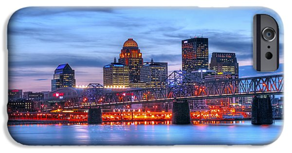 Built Structure iPhone Cases - Louisville Kentucky iPhone Case by Darren Fisher