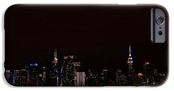 Empire State iPhone Cases - Love Is Love iPhone Case by MingTa Li