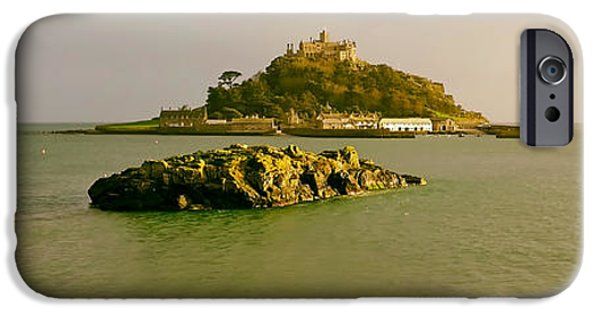 Michael iPhone Cases - Lovely St Michaels Mount - Cornwall iPhone Case by Joakant