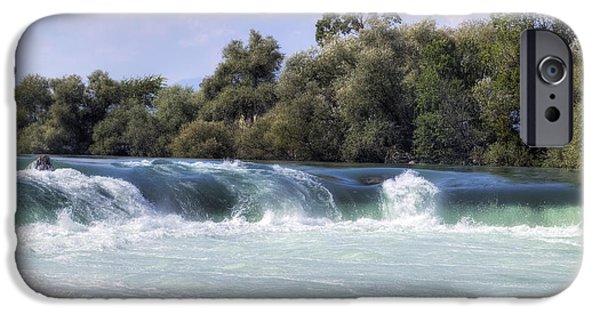 Asien iPhone Cases - Manavgat Waterfall - Turkey iPhone Case by Joana Kruse