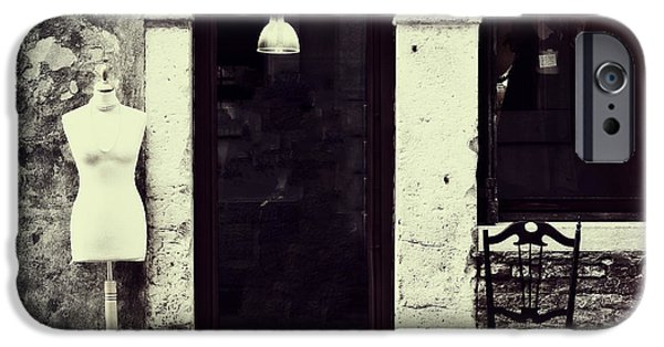 Entrance Door Photographs iPhone Cases - Mannequin iPhone Case by Joana Kruse