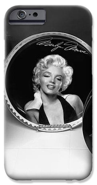 MARILYN and ELVIS iPhone Case by Daniel Hagerman