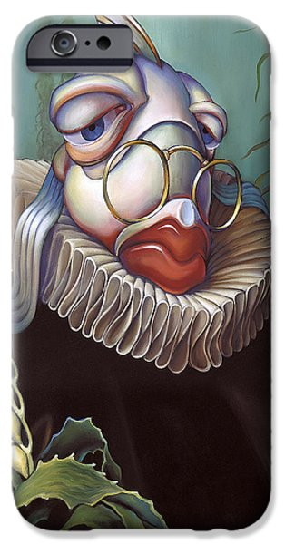 Lips iPhone Cases - Marquis de Sole iPhone Case by Patrick Anthony Pierson