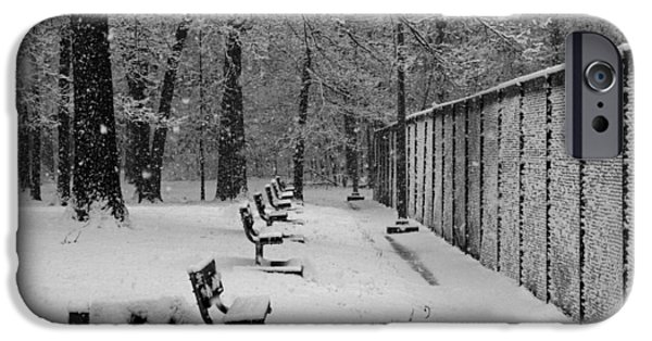 Winter Storm iPhone Cases - Match called for snow iPhone Case by Andy Lawless